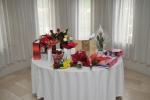 Table with gifts